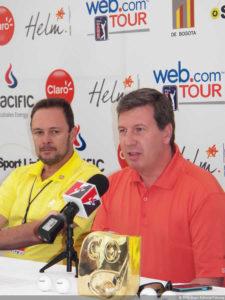 Germán Calle Jr. es marca país para Colombia y para golf el colombiano (cortesía Revista Fairway)
