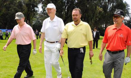 Germán Calle Jr. es marca país para Colombia y para golf el colombiano