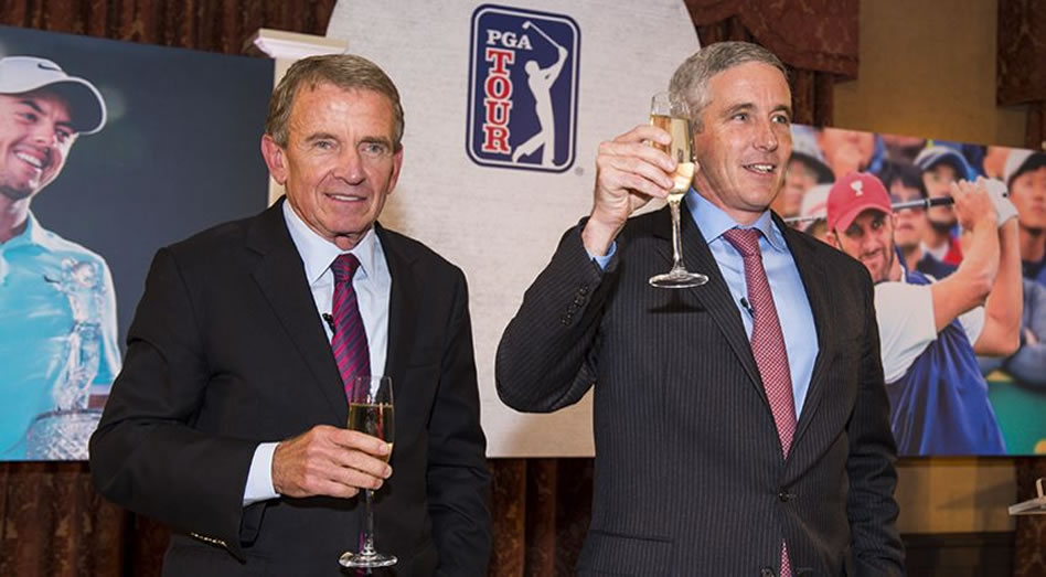 Jay Monahan sustituye a Finchem a cargo del PGA Tour