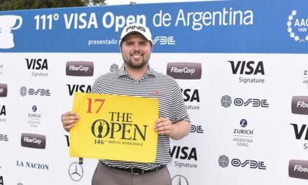 Kent Bulle defendió el título y consiguió el ticket a The Open