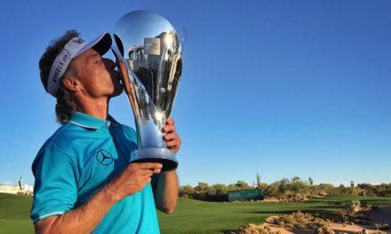 Langer entra en la historia del Champions Tour