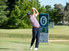 Samuel Del Val (ESP) está a solo un golpe / Foto: Gentileza Enrique Berardi/PGA TOUR