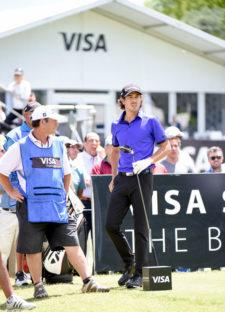 Emilio Domínguez (ARG) realizó una de las mejores rondas del campeonato y se metió en la pelea por el título / Foto: Gentileza Enrique Berardi/PGA TOUR
