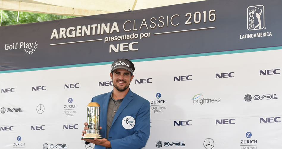 Samuel Del Val aprovechó la lluvia y conquistó el Argentina Classic presentado por NEC