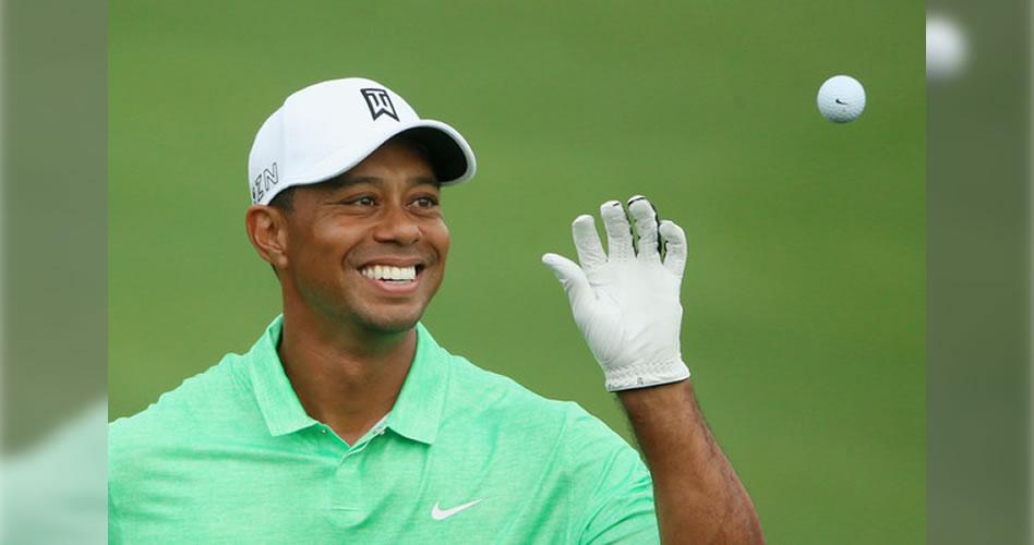 Tiger regresará a las canchas con maderas y pelotas nuevas
