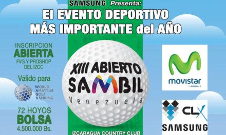 XIII Abierto Sambil, condiciones del Torneo