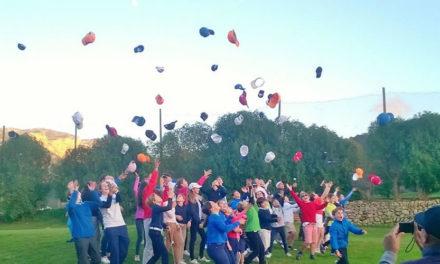 160 niños y niñas contribuyen al éxito de la gran Final de la Liga Nacional Juvenil Campbell Lamont – PGA