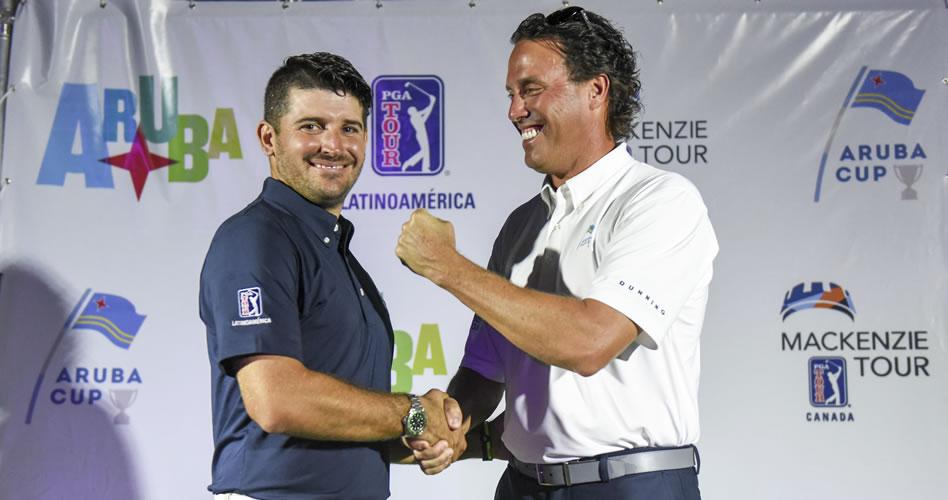 Arranque soñado para PGA TOUR Latinoamérica en Aruba Cup