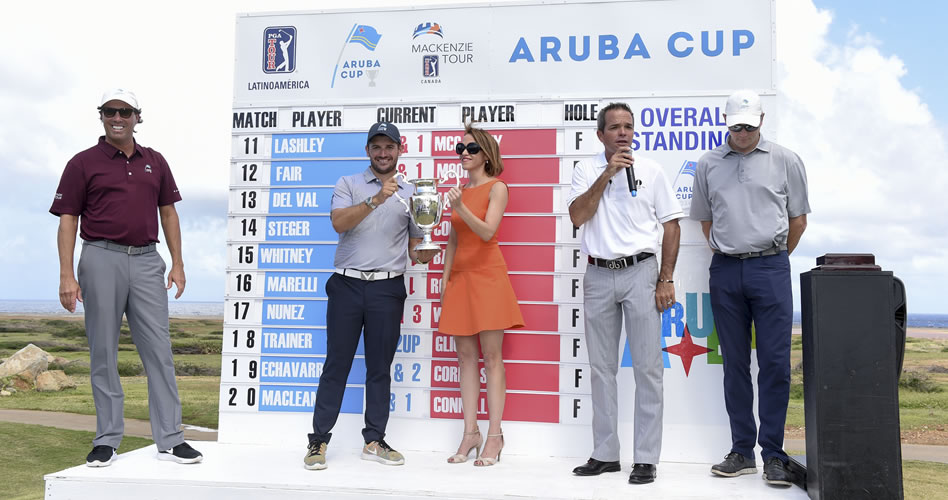 NOORD, ARUBA - DECEMBER 17: during Day Three of the PGA TOUR Latinoamerica and Mackenzie Tour's Aruba Cup at Tierra del Sol Resort and Golf on December 17, 2016 in Noord, Aruba. (Enrique Berardi/PGA TOUR)