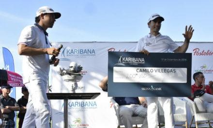 Camilo Villegas, primer campeón del Skins Game en Colombia