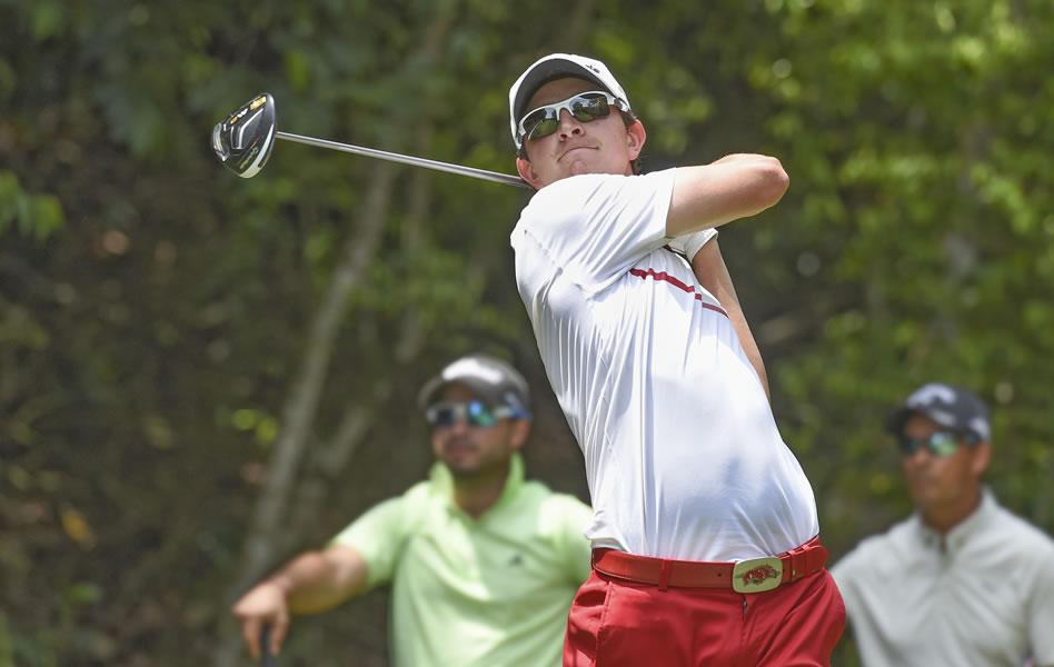 Nicolás Echavarría comparte liderato en Malinalco (Enrique Berardi/PGA TOUR)