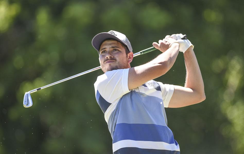Julián Lerda comparte liderato en Malinalco (Enrique Berardi/PGA TOUR)