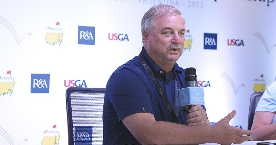 """Mark Lawrie, """"El LAAC apoyará el crecimiento del golf en Panamá"""" (cortesía Latin America Amateur Championship)"""