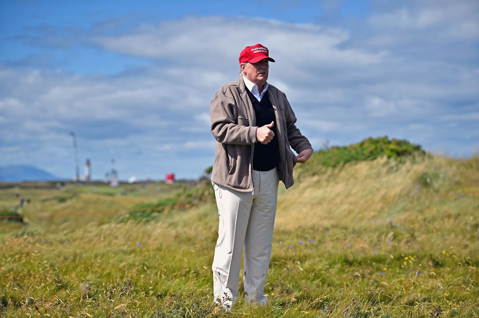 El negocio de golf de Donald Trump (cortesía Golf Digest)
