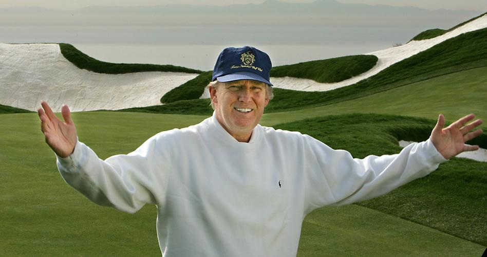 El negocio de golf de Donald Trump