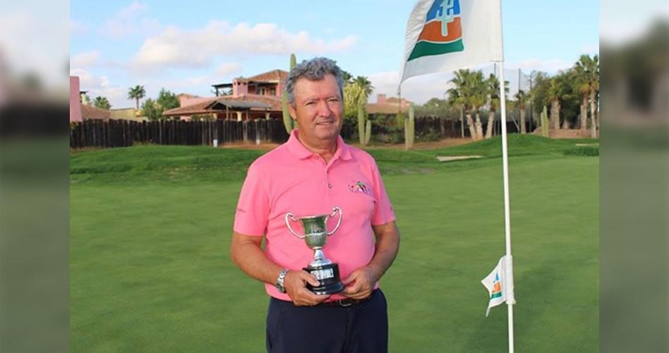 El que la sigue, la consigue. El alicantino José María Buendía se corona como campeón de España Senior