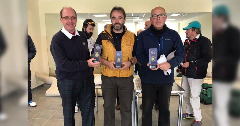 Felipe Herranz y Pedro Martínez vencedores en la segunda cita de Golf Adaptado 2017