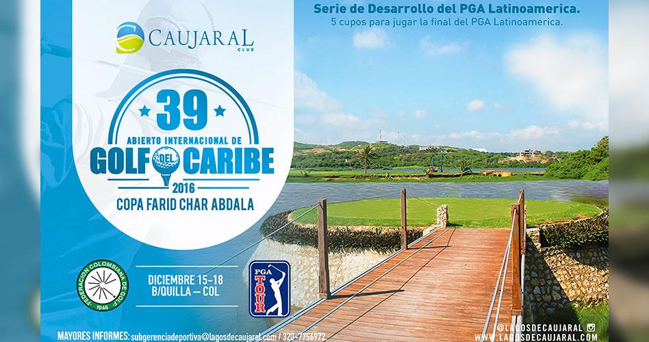 Gran remate de la temporada golfística nacional, desde este jueves en el Abierto del Caribe