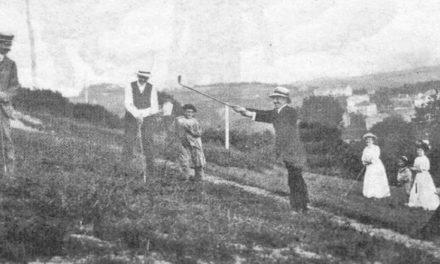La postal de Victoria Eugenia fue el inicio del golf en España
