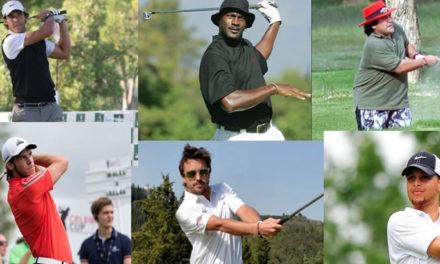 Los 100 mejores deportistas golfistas