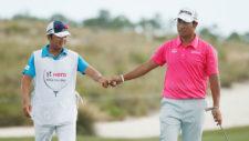 Hideki Matsuyama lucido con victoria del Hero World Challenge en retorno de Tiger (cortesía Golf Channel)