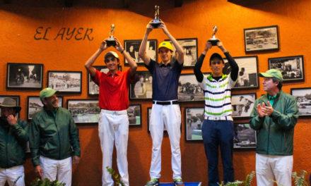 Máximo desempeño de los golfistas del Valle de México en la mitad de la Gira Infantil – Juvenil