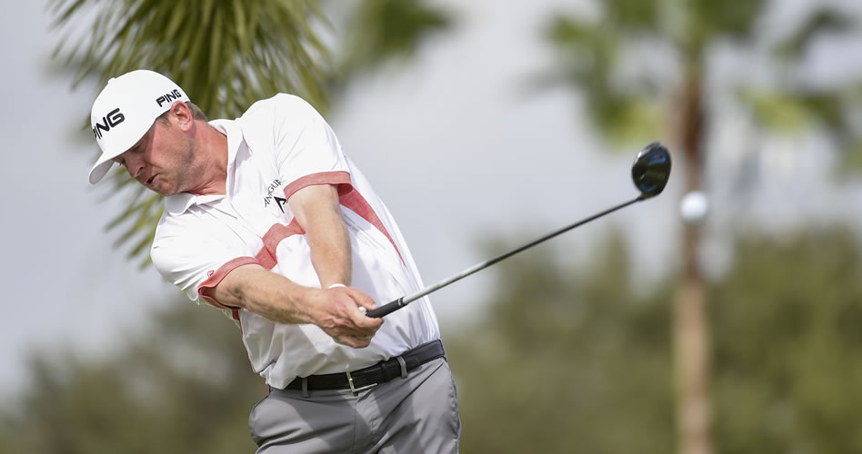 Nate Lashley hace 64 y toma control del Shell Championship