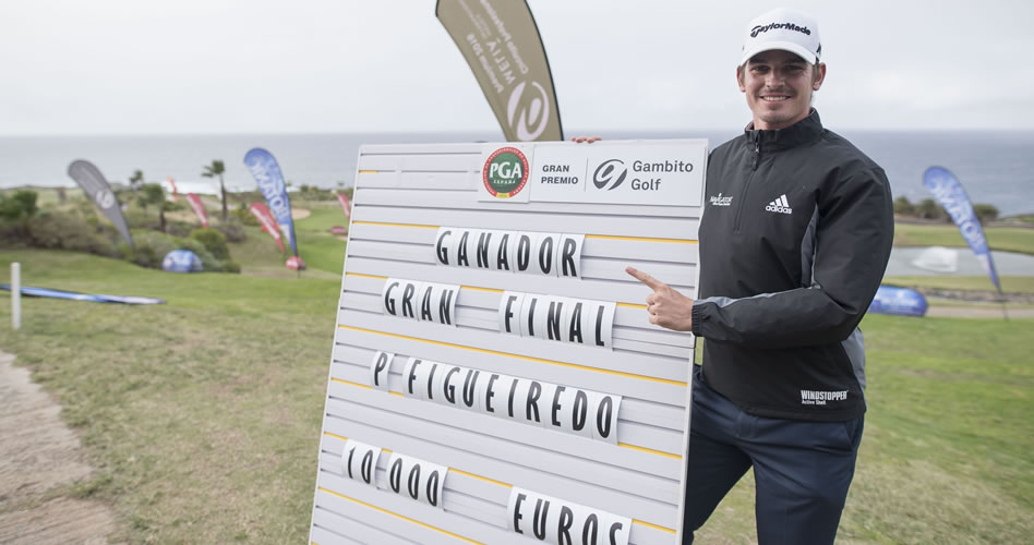Pedro Figueiredo vence en la Gran Final Gambito Golf de Tenerife