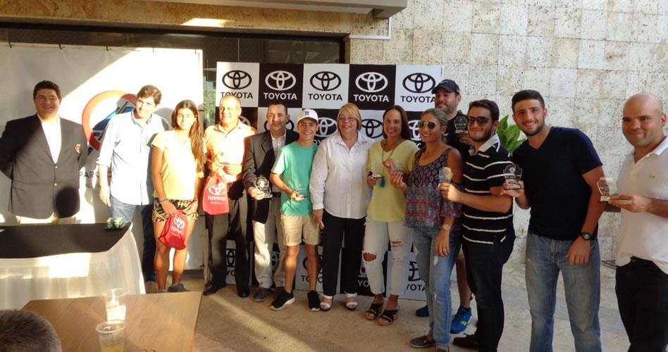 Se jugó la Copa Toyota de Venezuela en el Guataparo Country Club