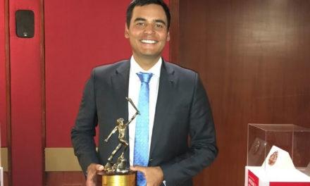 Sebastián Muñoz, deportista revelación de Colombia en 2016 y Premio Altius del COC