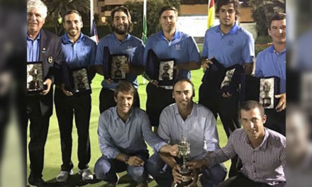 Triunfo de Argentina en la Copa Los Andes