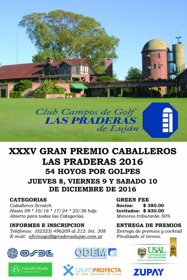 XXXV Gran Premio de Caballeros de Las Praderas