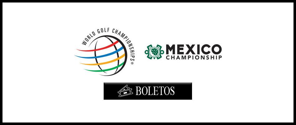 Ya están a la venta los boletos para el World Golf Championships-Mexico Championship