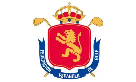 Calendario de competiciones 2017 de la Real Federación Española de golf