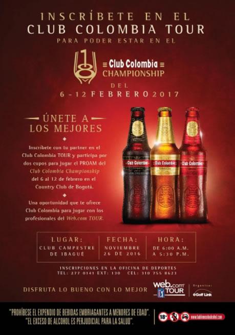 Club Colombia Tour llegando a su destino final en el Country Club de Bogotá
