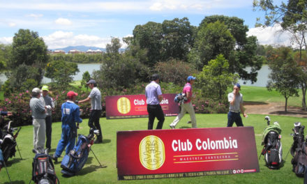 Club Colombia Tour llegando a su destino final en el Country Club de Bogotá