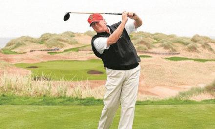 El mundo del golf cede ante Trump
