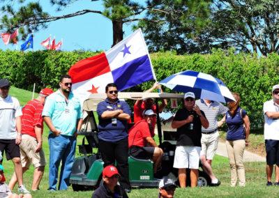 Bandera Panameña en hoyo 6