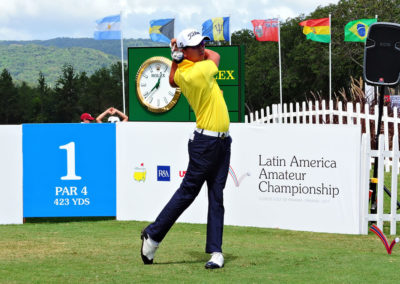 Galería de fotos, Latin America Amateur Championship 2017 día viernes