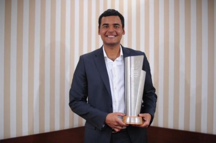 Golfista Muñoz es el Deportista Revelación del Año 2016 (cortesía elespectador.com- Mauricio Alvarado)