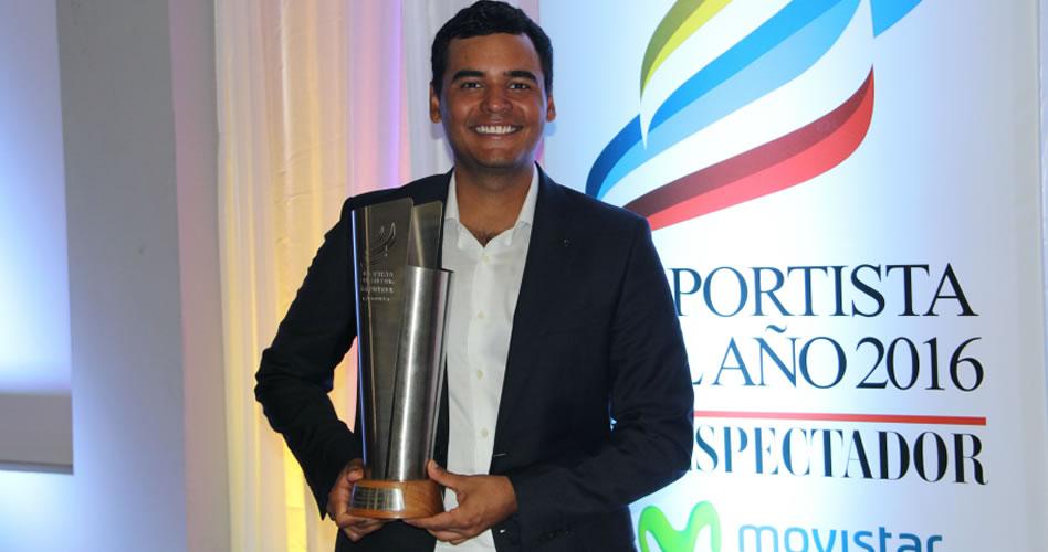 Golfista Muñoz es el Deportista Revelación del Año 2016