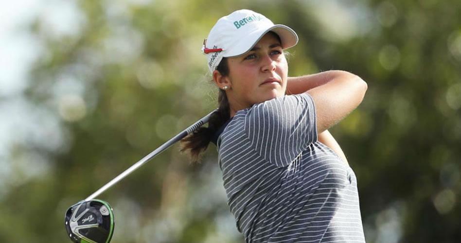 Gran primera vuelta de María Parra en su estreno en el LPGA Tour