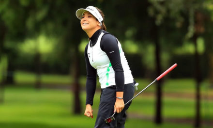 ¡Histórico! 'Mariajo' Uribe igualó su ronda más baja en el LPGA Tour