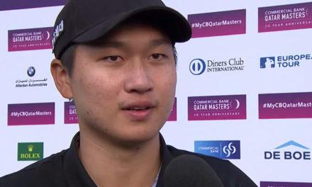 Jeung-hun Wang ganó en Qatar
