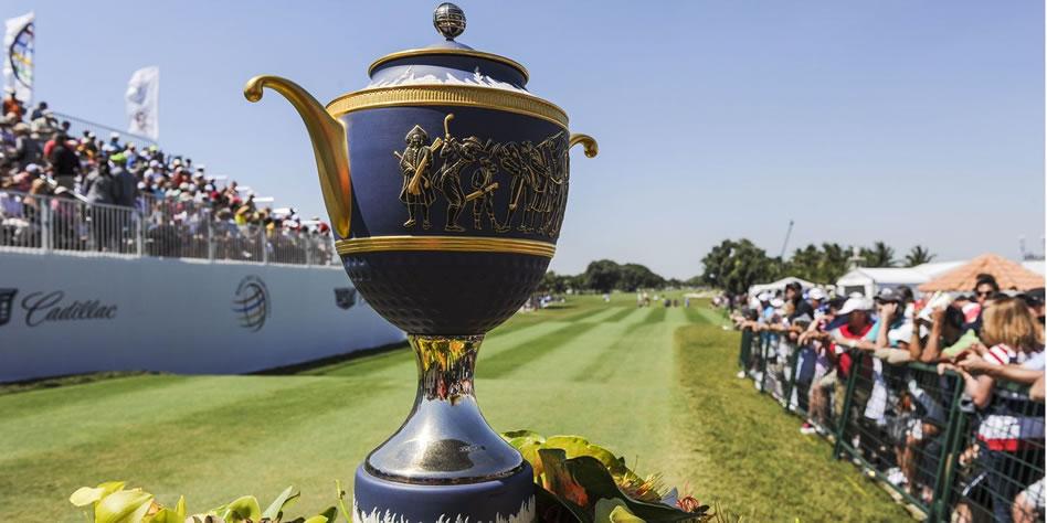 Junto a los excampeones Reed, Johnson y Mickelson, Thomas se comprometió a jugar el World Golf Championships-Mexico Championship