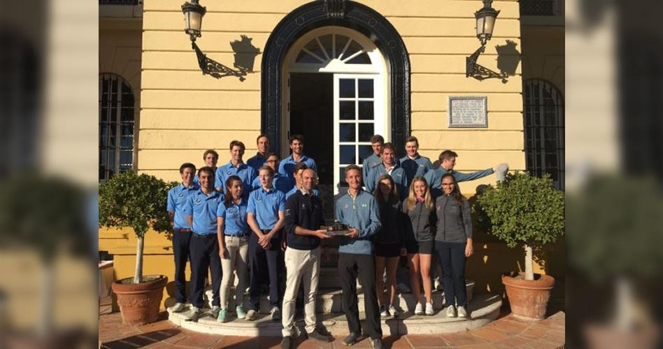 Málaga acoge el primer torneo de golf universitario de España