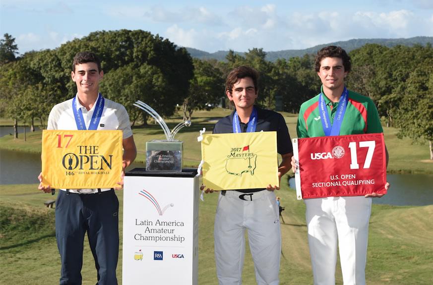Chile es elegida como la sede del Latin America Amateur Championship