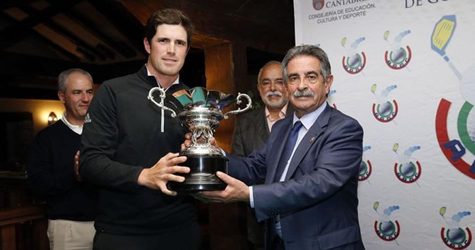 """Revilla destaca el potencial del golf como """"factor de atracción turística"""""""
