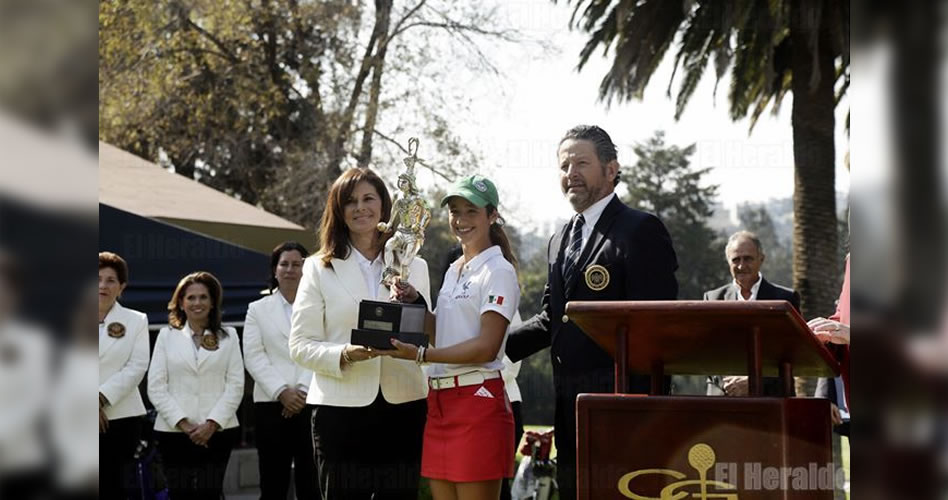 Se lleva Fierro Nacional de golf de Aficionadas
