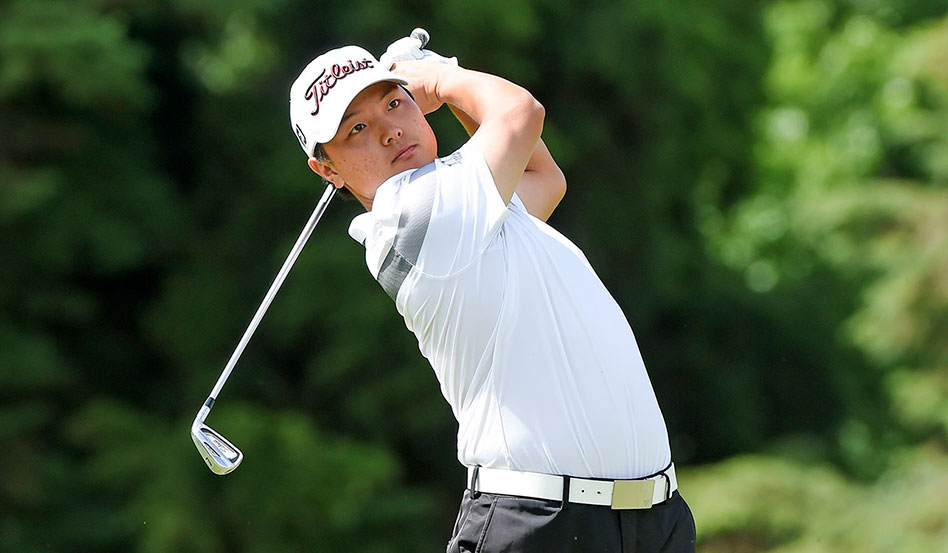 Thomas Baik tuvo una ronda con siete birdies y sin errores para tomar la punta en Luján (E.Berardi/PGA TOUR)